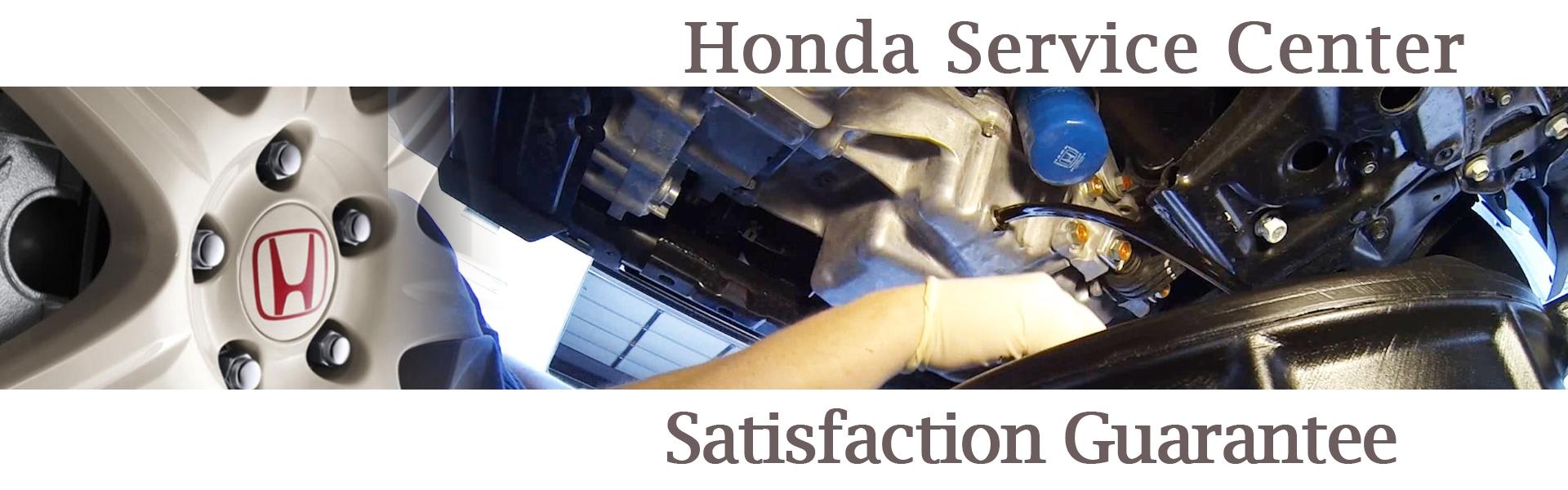 Genuine Honda Service